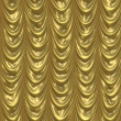 Stock Photo: Gold curtain background