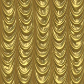 Gold curtain background — Stock Photo