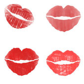 Red kiss — Stock Photo