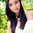 Attractive young asian woman beauty portrait — Stock Photo #30408315