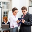 Business people working in office teamwork  — Stock Photo