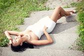 привлекательные молодые азиатские женщины красоты портрет — Стоковое фото