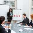 Business team in office meeting presentation conference — Foto de Stock