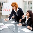 Business team in office meeting presentation conference — Stock Photo #35609613