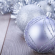 Festive glitter christmas decoration — Foto Stock