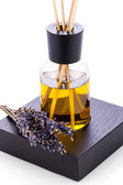 Aromatic lavender oil fragrant object isolated — Stock Photo
