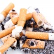 Постер, плакат: Stop smoking cigarettes isolated