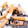 Stock Photo: Stop smoking cigarettes isolated