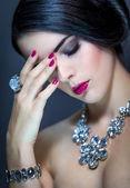Beautiful sophisticated woman — Stock Photo