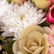 Stock Photo: Bouquet of fresh pink and white flowers