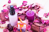 Aroma wellness cosmetic beauty objects — Stock Photo