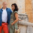 Young attractive couple in summer fashion — Stock fotografie #37990329