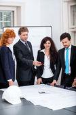 Zespół ludzi biznesu — Zdjęcie stockowe