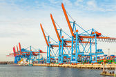 Port terminal for loading and offloading ships — Foto de Stock