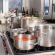 Commercial kitchen — Stock Photo #42191299