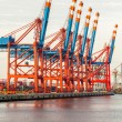 Port terminal — Stock Photo