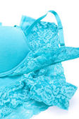 Blue lingerie — Stock Photo