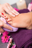 Pedicure treatment — Stock Photo