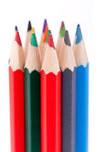 Bunch of colourful pencil — Stock Photo