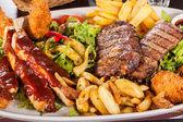 Mixed meats — Stock Photo