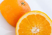 Orange halves — Stock Photo