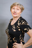 Attractive senior woman — Stock Photo