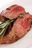 Medium rare beef — Stock Photo