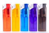 Plastic lighters — Stock Photo