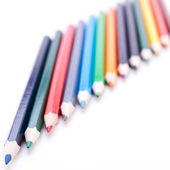 Pencil crayons — Stock Photo