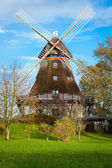 Windmill in  garden — Stock Photo