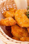 Chicken nuggets — Stock Photo