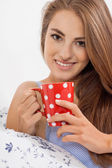 Aromatic coffee in the morming — Stock Photo
