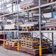 Building and construction materials in a warehouse — Stock Photo #47011079