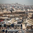View over the rooftops of Paris — Stock Photo #47011521