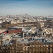 View over the rooftops of Paris — Stock Photo #47011647