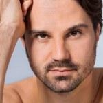 Sexy bearded man — Stock Photo #48669937