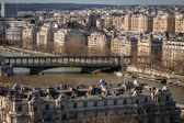 Rooftops of Paris — Stock Photo