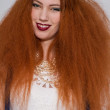 Model with frizzy hair — Stock Photo #48674167