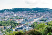 Scenic rooftop view of Stuttgart — 图库照片