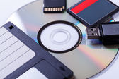 Computer storage devices — Stock Photo