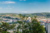 Scenic rooftop view of Stuttgart — Foto de Stock