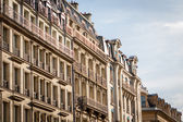 Multi-storey historical townhouse — Stock Photo