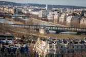 Rooftops of Paris — 图库照片