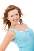 Smiling  teenager girl — Stockfoto