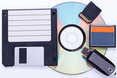 Computer storage devices — Foto de Stock