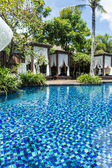 Swimming pool in Bali — Stock Photo