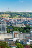 Scenic rooftop view of Stuttgart — Stockfoto