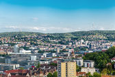 Scenic rooftop view of Stuttgart, Germany — 图库照片