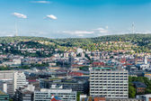 Scenic rooftop view of Stuttgart, Germany — Стоковое фото
