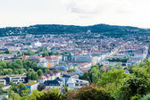 Scenic rooftop view of Stuttgart, Germany — Stok fotoğraf